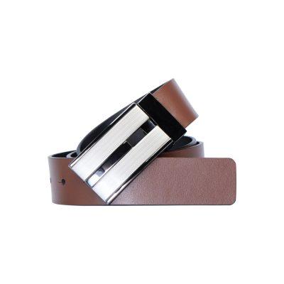 Fashion 4 Men - Tarocash Bourbon Reversible Belt Tan/Black 30