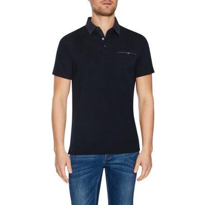 Fashion 4 Men - Tarocash Capri Modal Polo Black 5 Xl