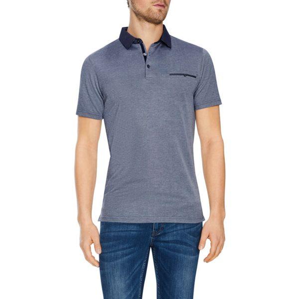 Fashion 4 Men - Tarocash Capri Modal Polo Navy Marle Xxxl