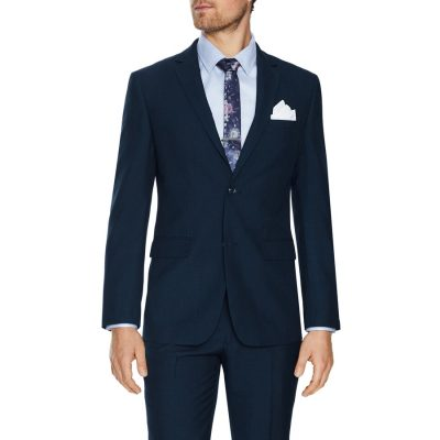 Fashion 4 Men - Tarocash Carrey 2 Button Suit Navy 42