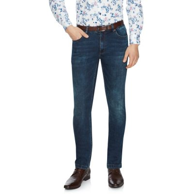 Fashion 4 Men - Tarocash Doherty Regular Jean Vintage Blue 36