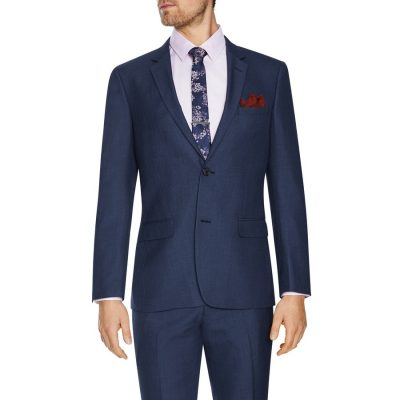 Fashion 4 Men - Tarocash Douglas 2 Button Suit Blue 32