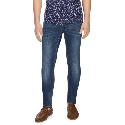 Fashion 4 Men - Tarocash Flex Slim Jean Blue 33