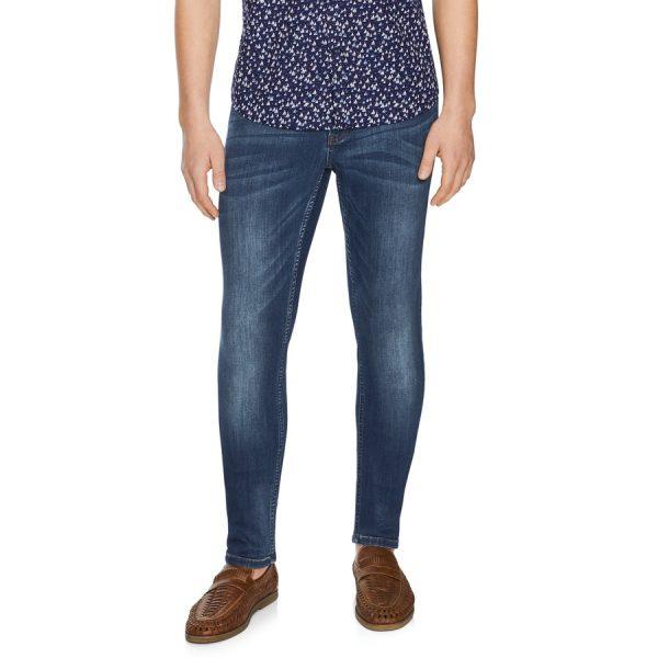 Fashion 4 Men - Tarocash Flex Slim Jean Blue 35