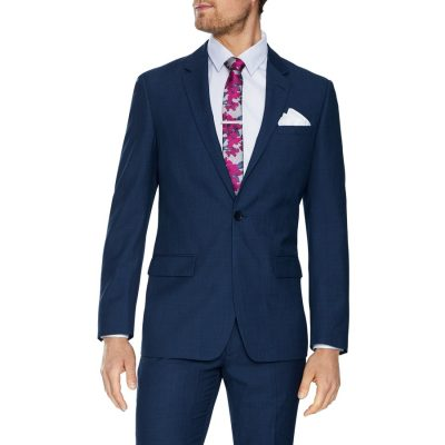 Fashion 4 Men - Tarocash Harrow 1 Button Suit Blue 40