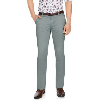 Fashion 4 Men - Tarocash Jeremy Slim Stretch Pant Pewter 36