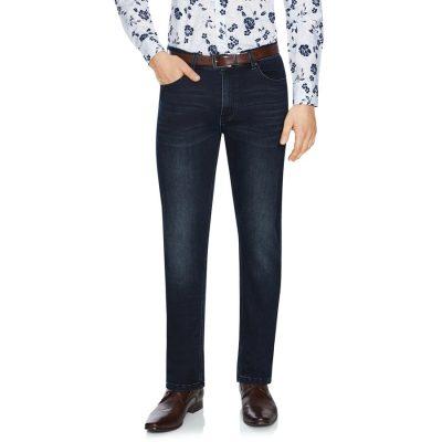Fashion 4 Men - Tarocash Livingstone Regular Stretch Jean Midnight 34