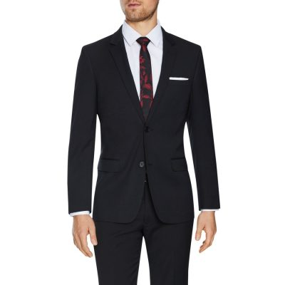 Fashion 4 Men - Tarocash Lynch Stretch 2 Button Suit Charcoal 40
