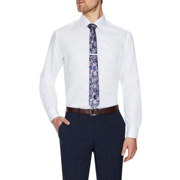 Fashion 4 Men - Tarocash Max Dress Shirt White Xxxl