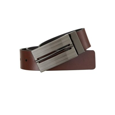 Fashion 4 Men - Tarocash Radcliffe Reversible Belt Black Cognac 30