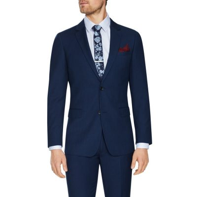 Fashion 4 Men - Tarocash Rochford Slim 2 Button Suit Blue 46