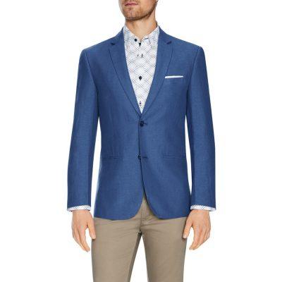 Fashion 4 Men - Tarocash Roden Linen Blend Blazer Foam 5 Xl