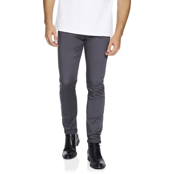Fashion 4 Men - yd. Austin Chino Charcoal 28
