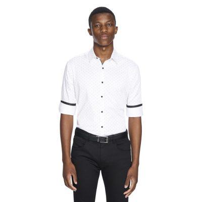 Fashion 4 Men - yd. Bodhi Slim Fit Shirt White S