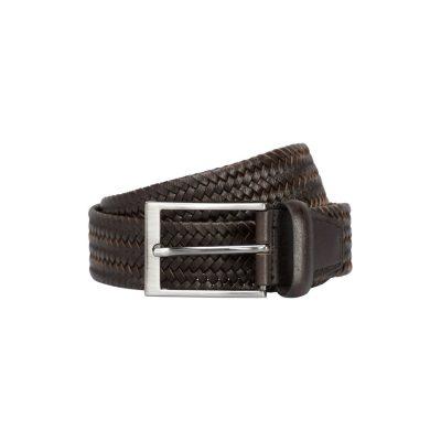 Fashion 4 Men - yd. Braided Belt Chocolate 32