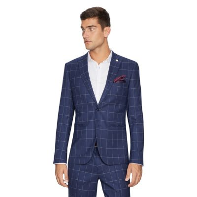 Fashion 4 Men - yd. Bryce Slim Fit Suit Jacket Dark Blue 46