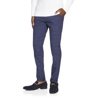 Fashion 4 Men - yd. Chase Skinny Chino Blue 34