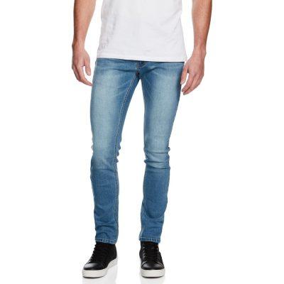 Fashion 4 Men - yd. Pasadena Skinny Fit Jean Light Blue 38