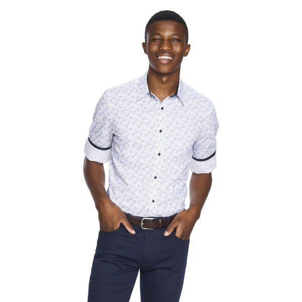 Fashion 4 Men - yd. Pierre Shirt White L