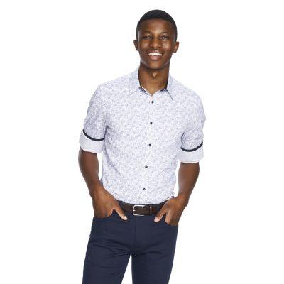 Fashion 4 Men - yd. Pierre Shirt White S
