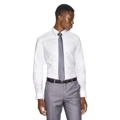 Fashion 4 Men - yd. Rex Dress Shirt White 2 Xs