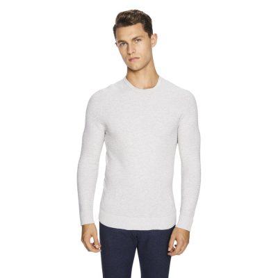 Fashion 4 Men - yd. Shadow Knit Light Grey 2 Xs