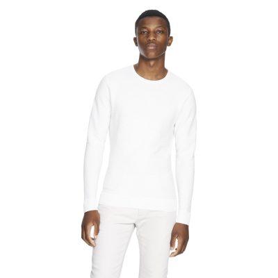 Fashion 4 Men - yd. Shadow Knit White 2 Xs