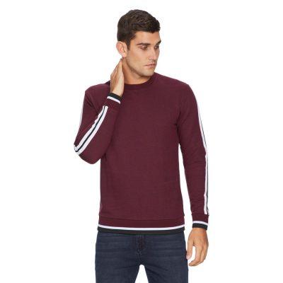 Fashion 4 Men - yd. Vince Long Top Burgundy Xl