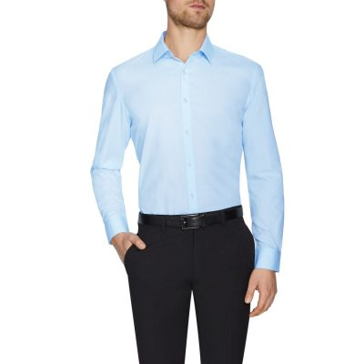 Fashion 4 Men - Tarocash Alby Dress Shirt Sky Xs