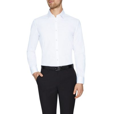 Fashion 4 Men - Tarocash Alby Dress Shirt White Xs