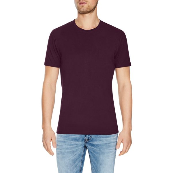 Fashion 4 Men - Tarocash Essential Crew Neck Tee Berry Xs