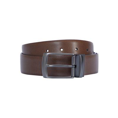 Fashion 4 Men - Tarocash Harry Reversible Prong Belt Tan/Black 30