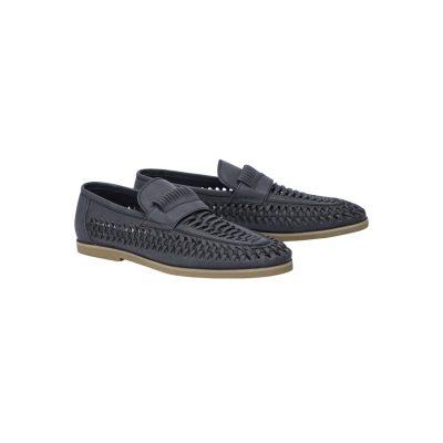 Fashion 4 Men - Tarocash Harry Slip On Shoe Black 11