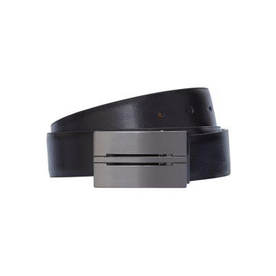 Fashion 4 Men - Tarocash Leon Reversible Belt Black/Tan 32