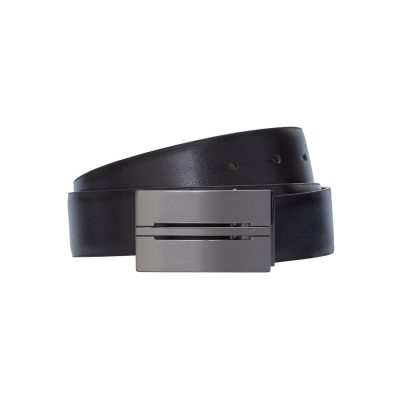 Fashion 4 Men - Tarocash Leon Reversible Belt Black/Tan 44