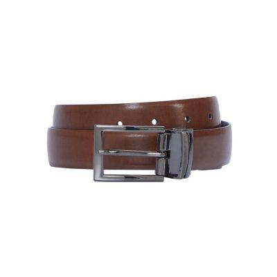 Fashion 4 Men - Tarocash Monk Reversible Prong Belt Brown/Black 30