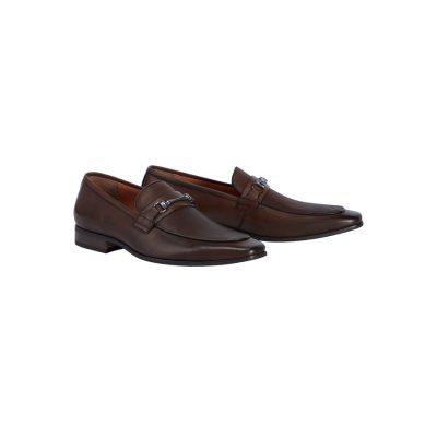 Fashion 4 Men - Tarocash Noah Dress Loafer Chocolate 8