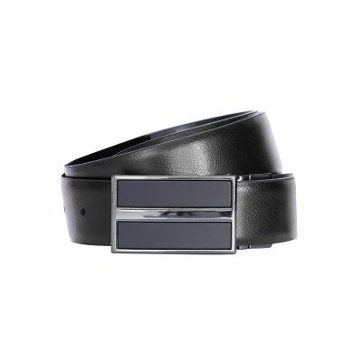Fashion 4 Men - Tarocash Peter Reversible Belt Black/Brown 44