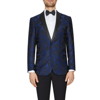 Fashion 4 Men - Tarocash Phantom Tuxedo Jacket Navy Xxl