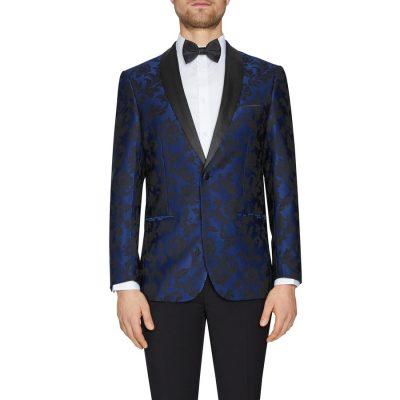 Fashion 4 Men - Tarocash Phantom Tuxedo Jacket Navy Xxxl