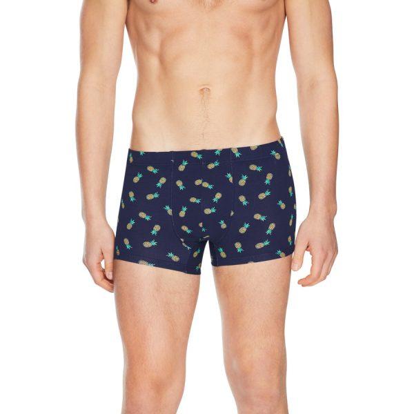 Fashion 4 Men - Tarocash Pineapple Print Underwear Navy Xl/2
