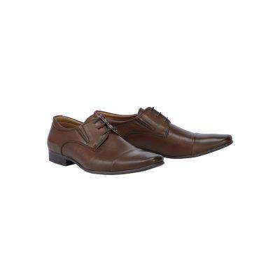 Fashion 4 Men - Tarocash Whiskey Lace Up Shoe Cognac 9
