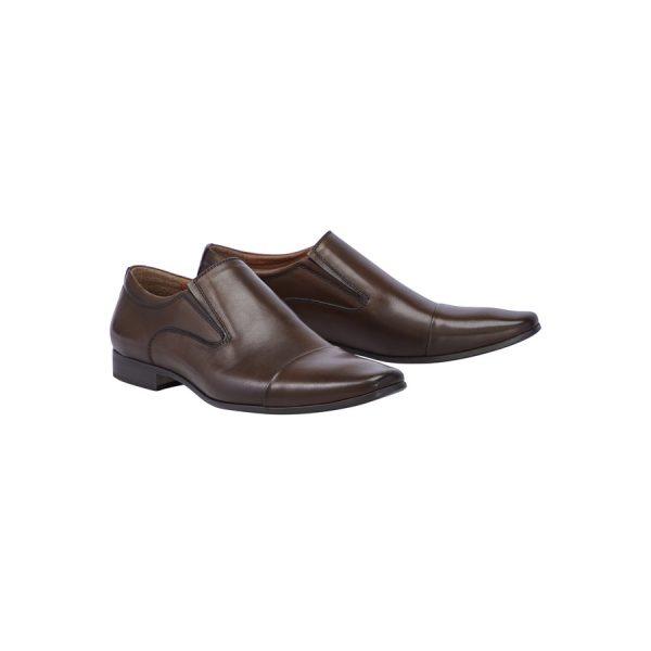 Fashion 4 Men - Tarocash Whiskey Slip On Shoe Cognac 12