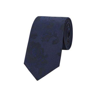 Fashion 4 Men - yd. Frankie Floral 6.5 Cm Tie Dark Blue One