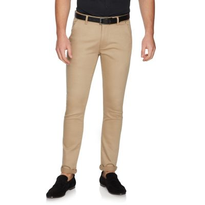 Fashion 4 Men - yd. Kobe Stretch Skinny Chino Tan 32