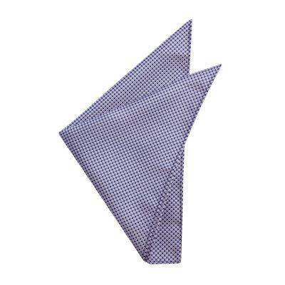 Fashion 4 Men - yd. Murphy Pocket Square Lavender One