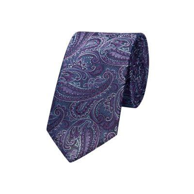 Fashion 4 Men - yd. Prince Paisley 6.5 Cm Tie Grape One