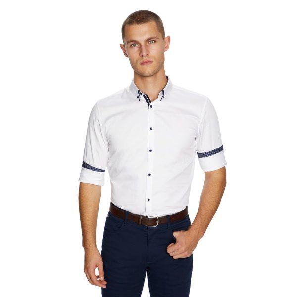 Fashion 4 Men - yd. Reverse Muscle Shirt White Xxxl