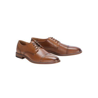 Fashion 4 Men - Tarocash Davis Lace Up Shoe Brown 10