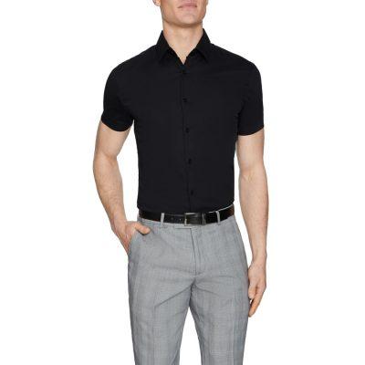 Fashion 4 Men - Tarocash Jason Muscle Fit Shirt Black Xs